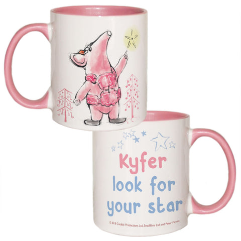 Clangers Star Personalised Coloured Insert Mug