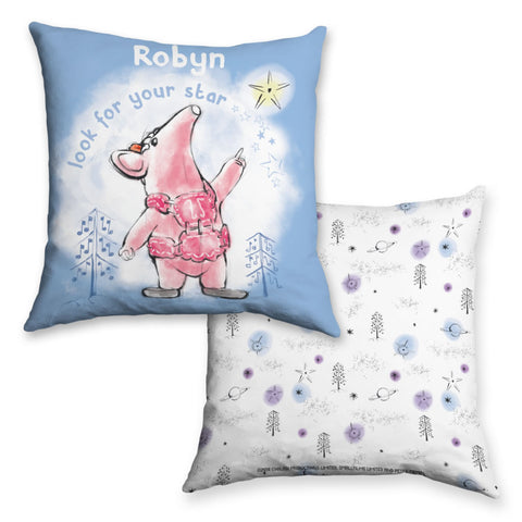 Clangers Star Personalised Cushion