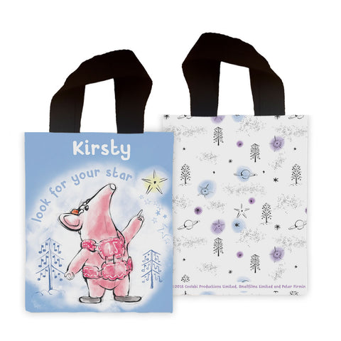 Clangers Star Personalised Mini Edge to Edge Tote Bag