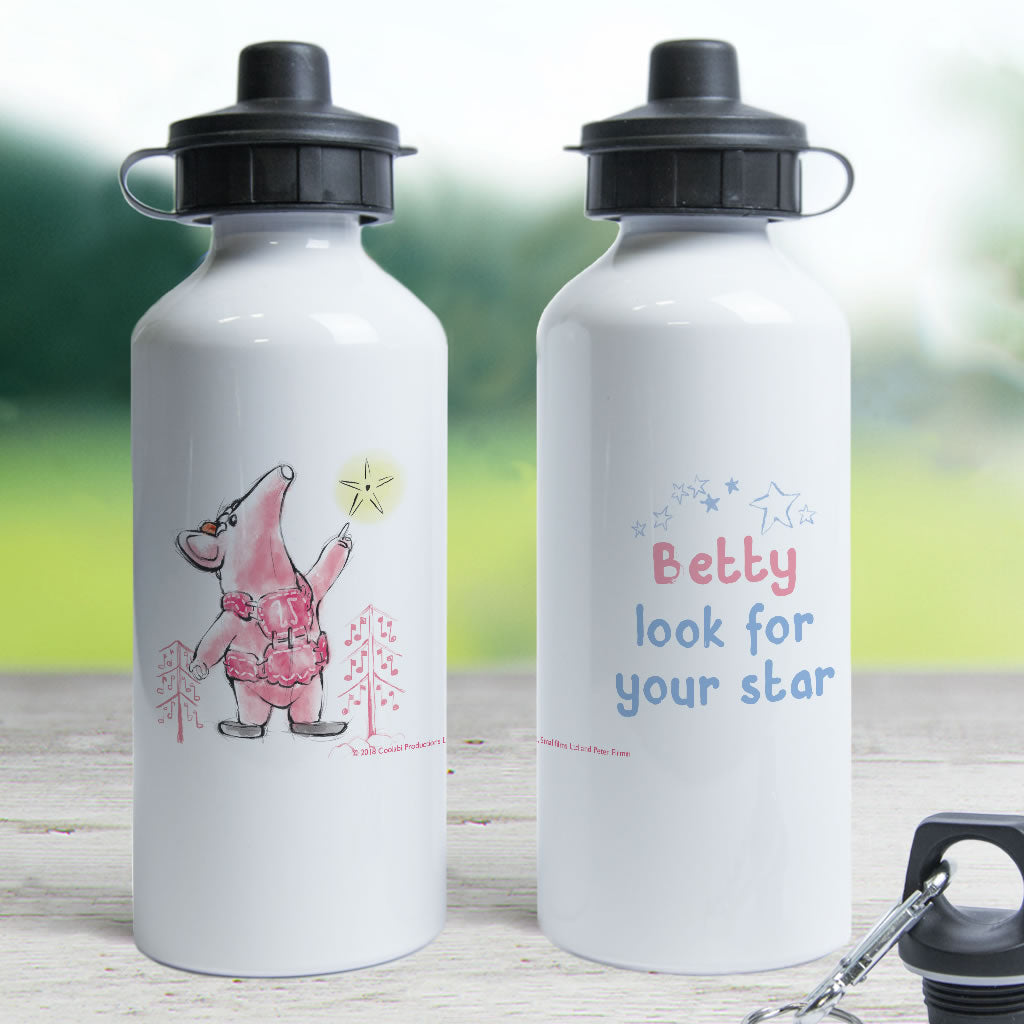 Clangers Star Personalised Water Bottle (Lifestyle)