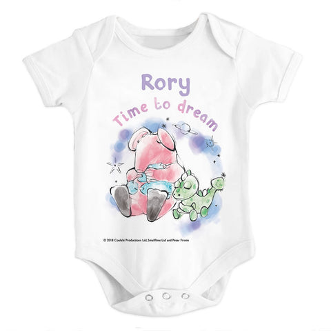 Clangers Dream Personalised Babygrow