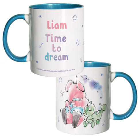 Clangers Dream Personalised Coloured Insert Mug