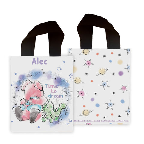 Clangers Dream Personalised Mini Edge to Edge Tote Bag