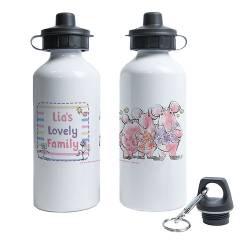 Clangers Family Personalised Water Bottle