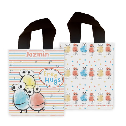 Clangers Free Hugs Personalised Mini Edge to Edge Tote Bag