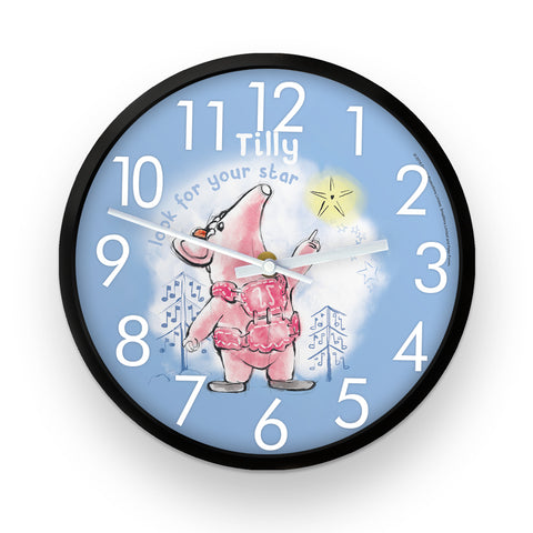 Clangers Star Personalised Clock