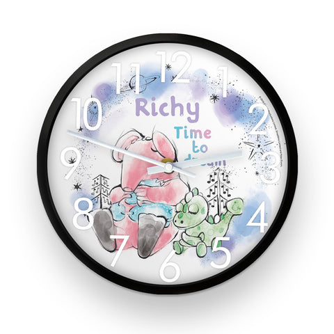 Clangers Dream Personalised Clock
