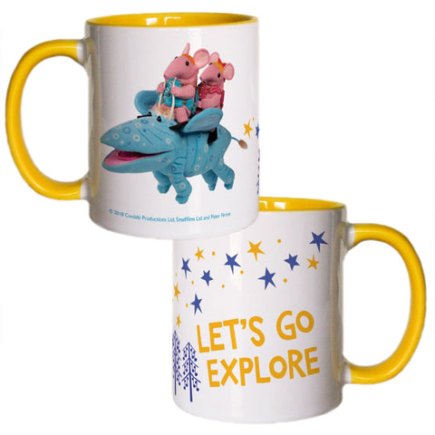 Let's Go Explore Clangers Coloured Insert Mug