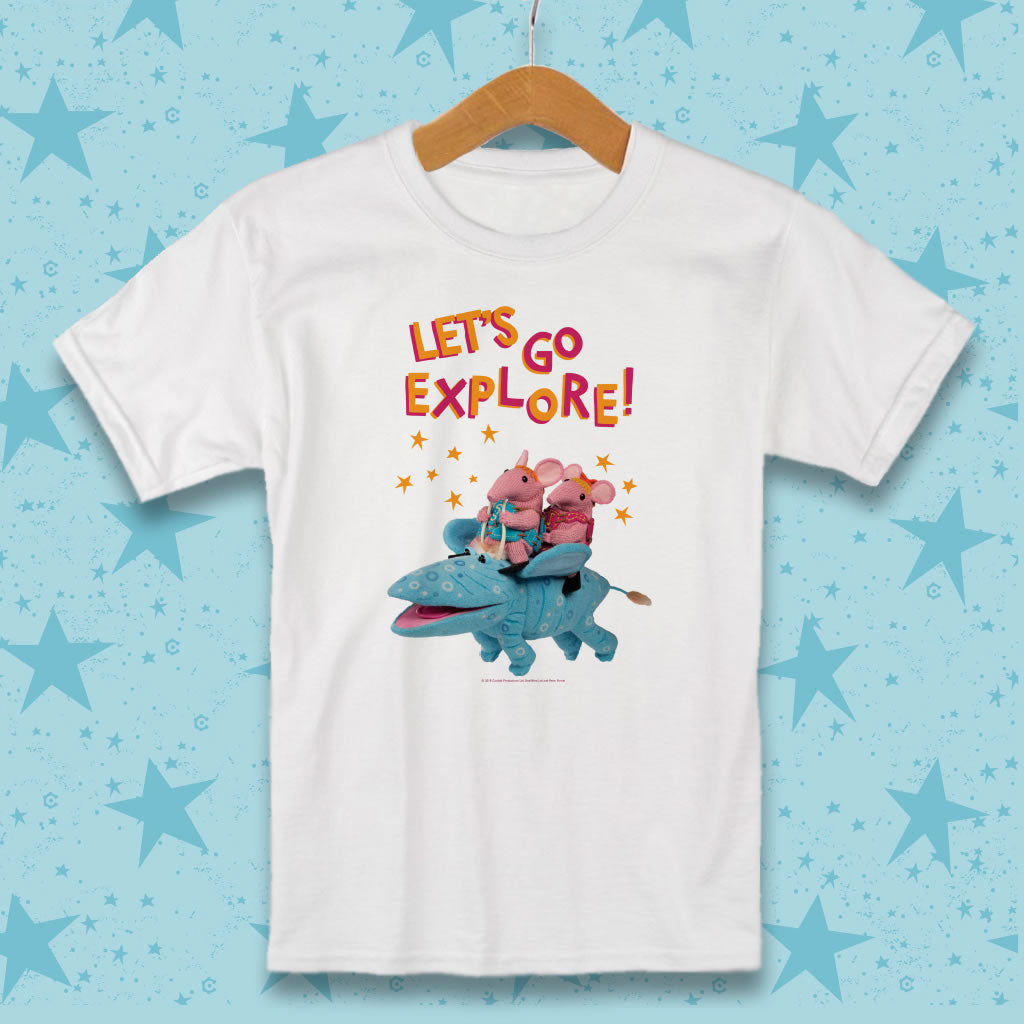 Let's go Explore Clangers T-Shirt
