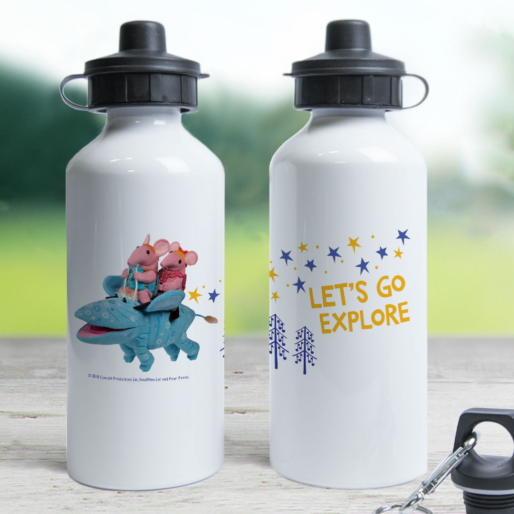 Let's Go Explore Clangers Water Bottle (Lifestyle)