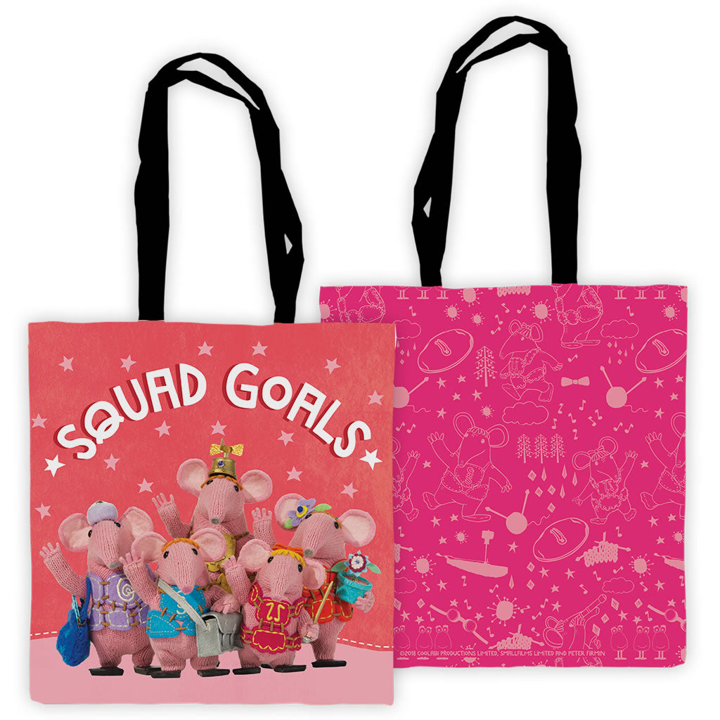 b3541e189d Squad Goals Clangers Edge To Edge Tote Bag
