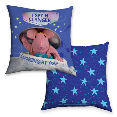 I Spy Clangers Cushion