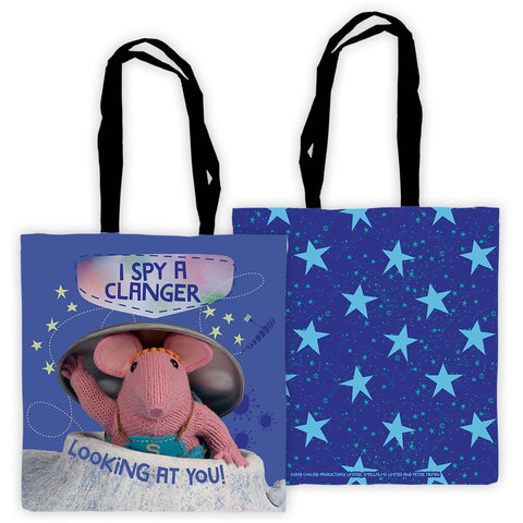 I Spy Clangers Edge To Edge Tote Bag