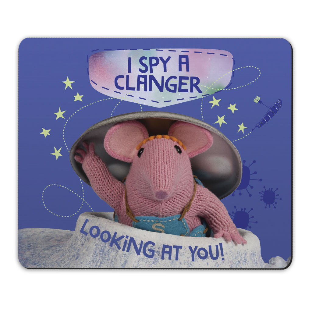 I Spy Clangers Mousemat