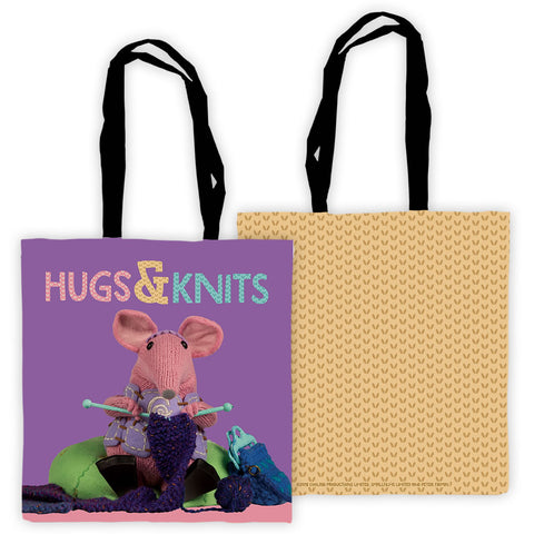 Hugs Clangers Edge To Edge Tote Bag