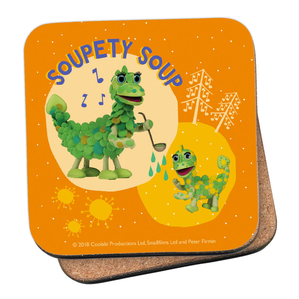 Soupety Soup Clangers Coaster (Lifestyle)