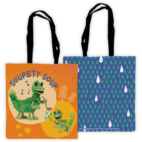 Soupety Soup Clangers Edge To Edge Tote Bag (Lifestyle)