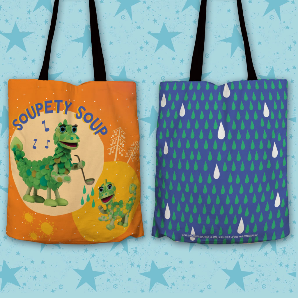 Soupety Soup Clangers Edge To Edge Tote Bag