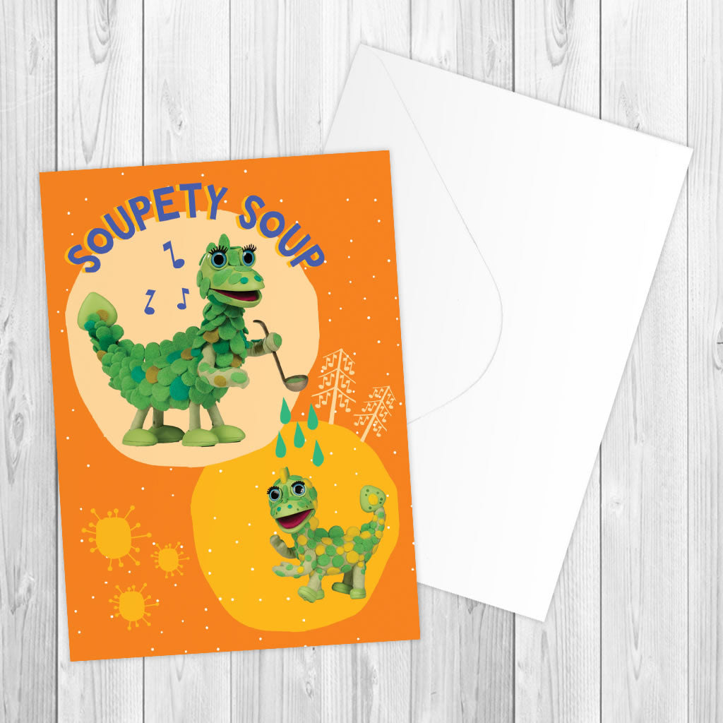 Soupety Soup Clangers Greeting Card