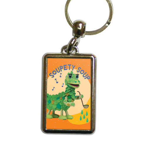 Soupety Soup Clangers Metal Keyring (Lifestyle)
