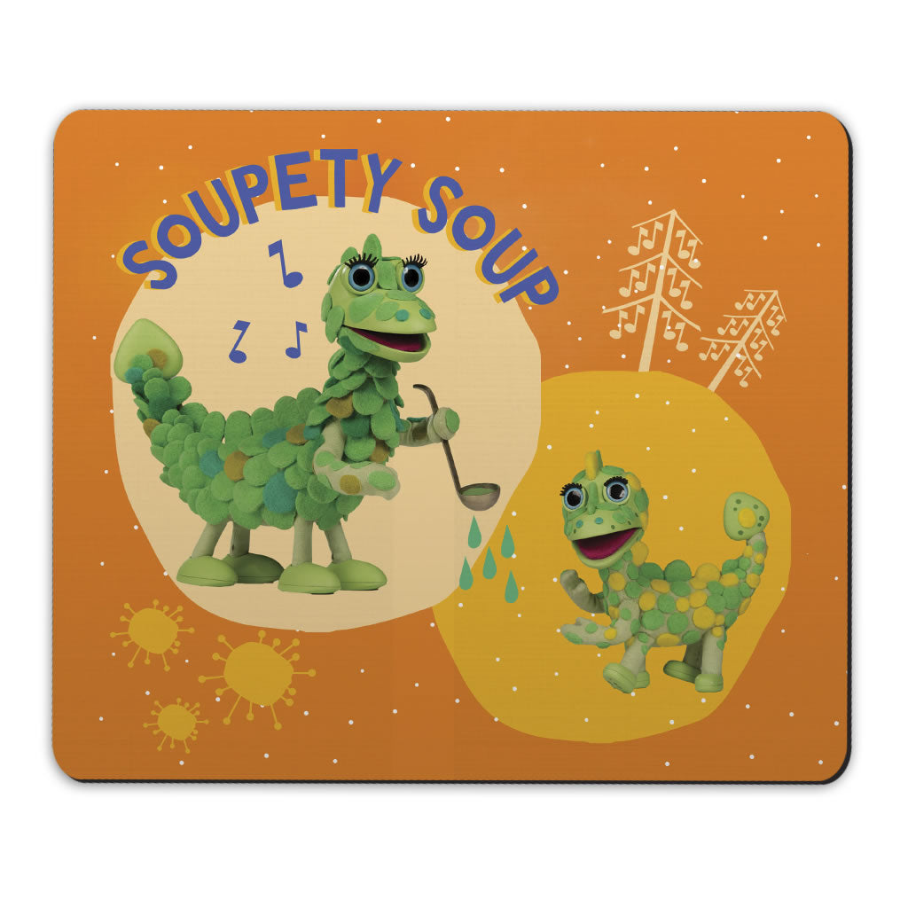 Soupety Soup Clangers Mousemat (Lifestyle)