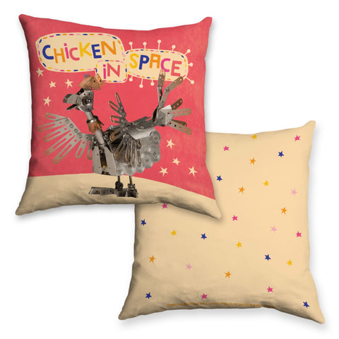 Chicken In Space Clangers Cushion
