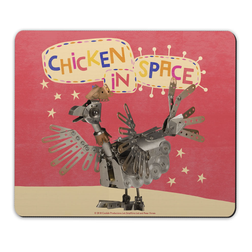 Chicken In Space Clangers Mousemat