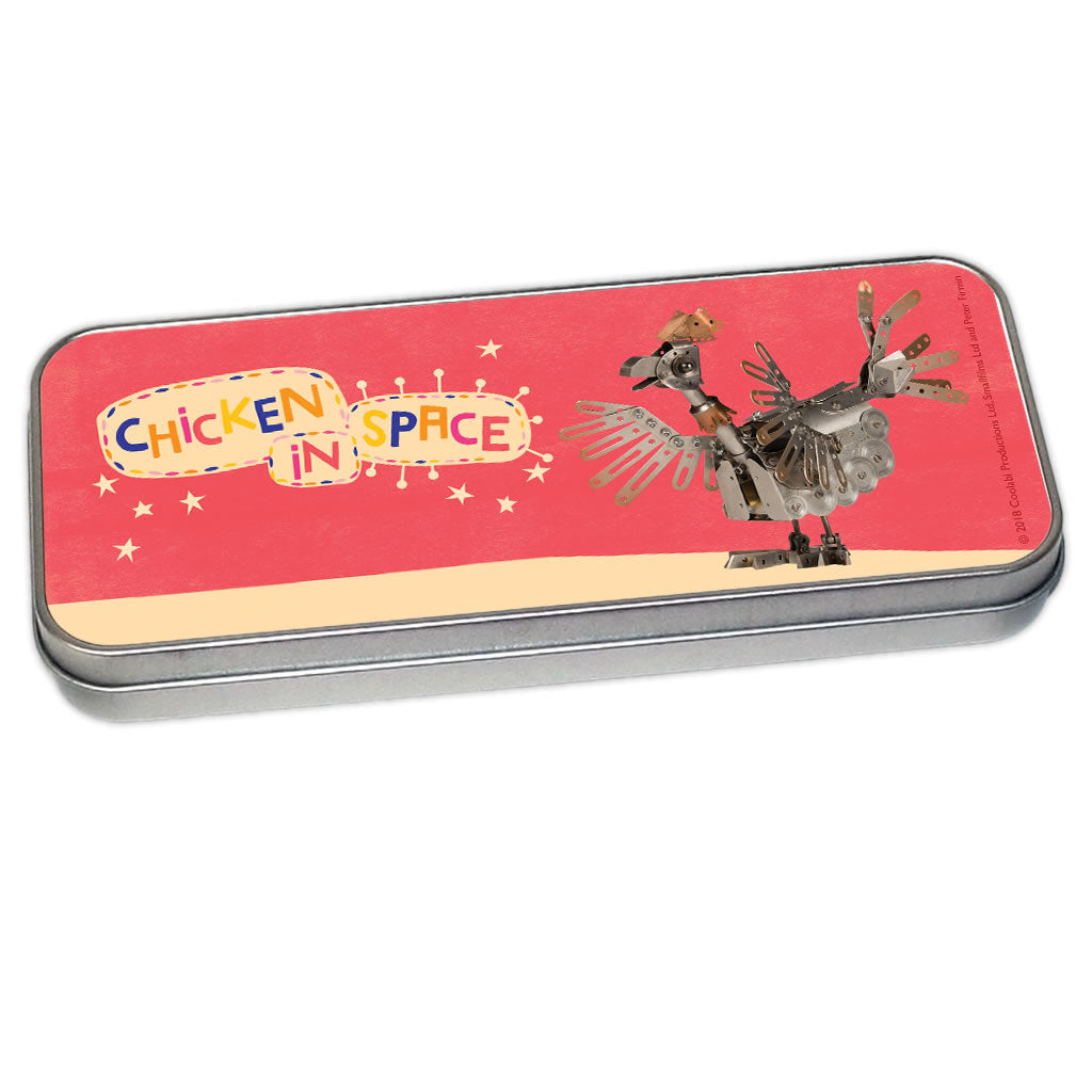 Chicken In Space Clangers Pencil Tin