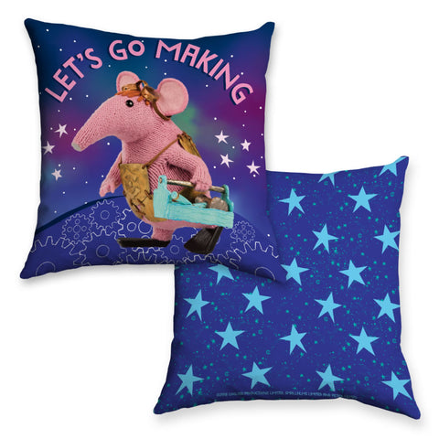Let's Go Making Clangers Cushion