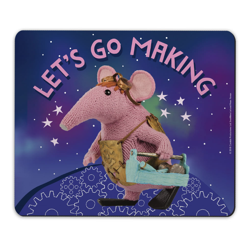 Let's Go Making Clangers Mousemat