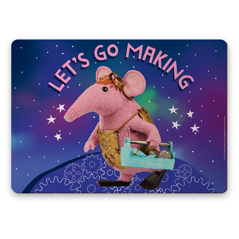 Let's Go Making Clangers Placemat