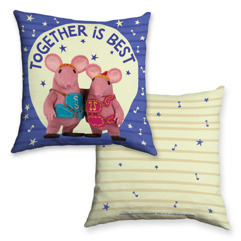Together Is Best Clangers Cushion