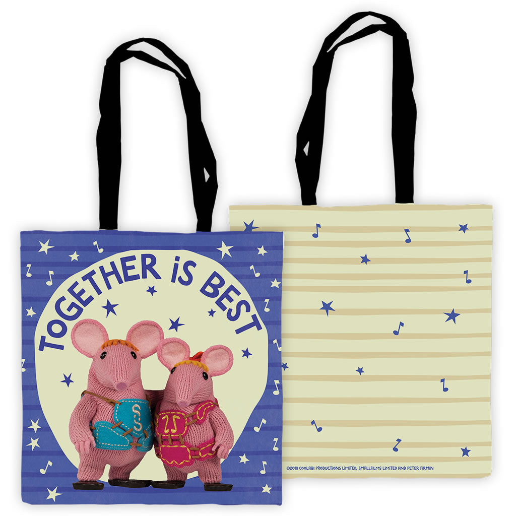 Together Is Best Clangers Edge To Edge Tote Bag