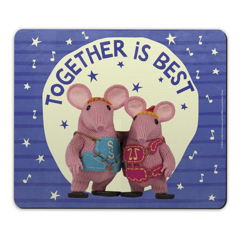 Together Is Best Clangers Mousemat
