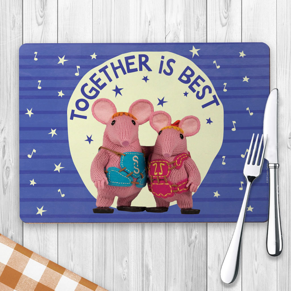 Together Is Best Clangers Placemat (Lifestyle)