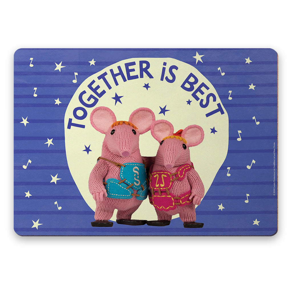 Together Is Best Clangers Placemat