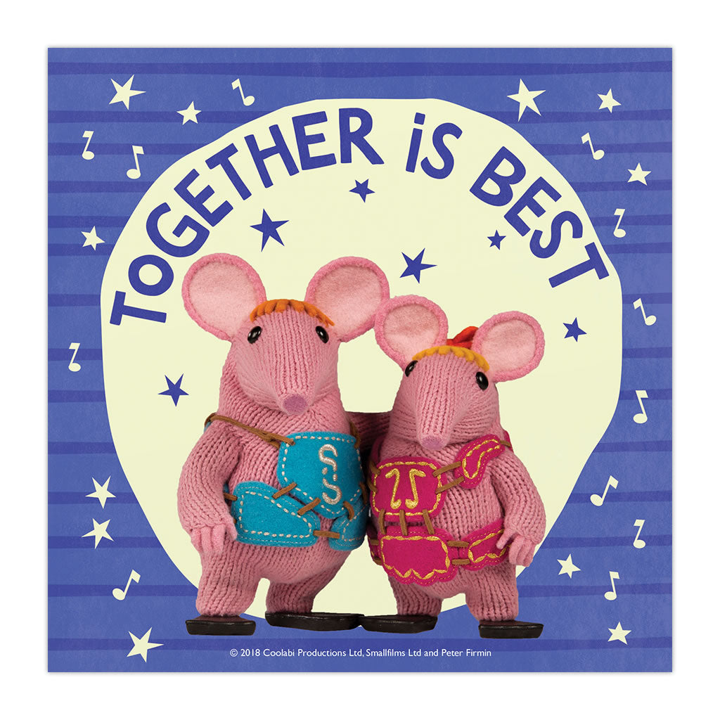Mother Knows Best Clangers Square Art Print