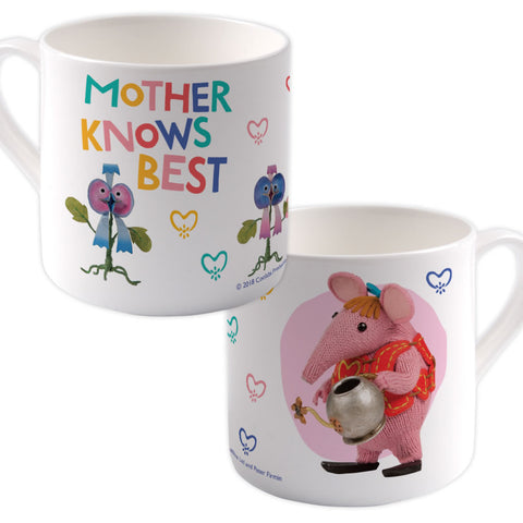 Mother Knows Best Clangers Bone China Mug