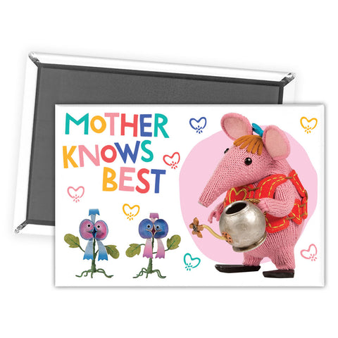Mother Knows Best Clangers Magnet