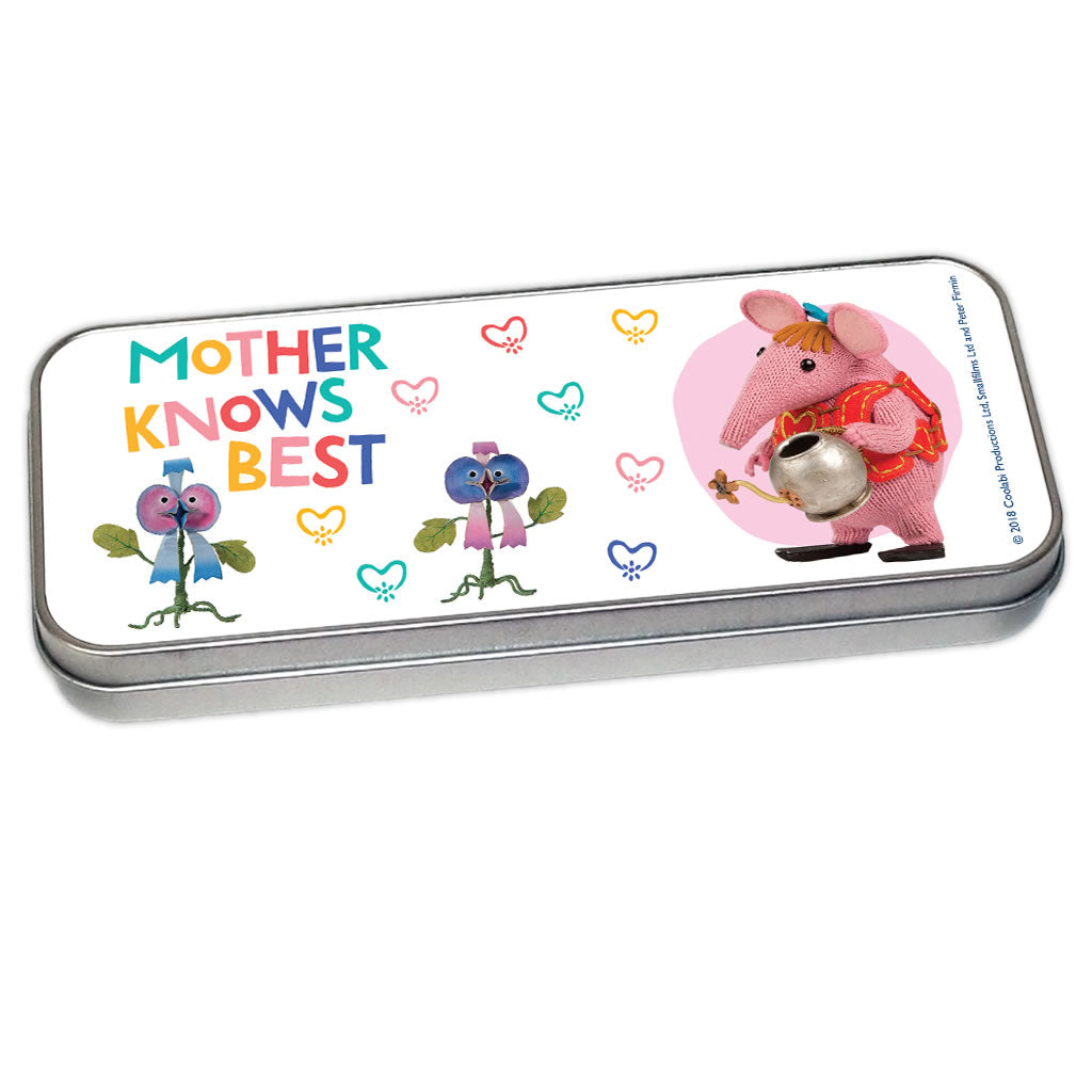 Mother Knows Best Clangers Pencil Tin