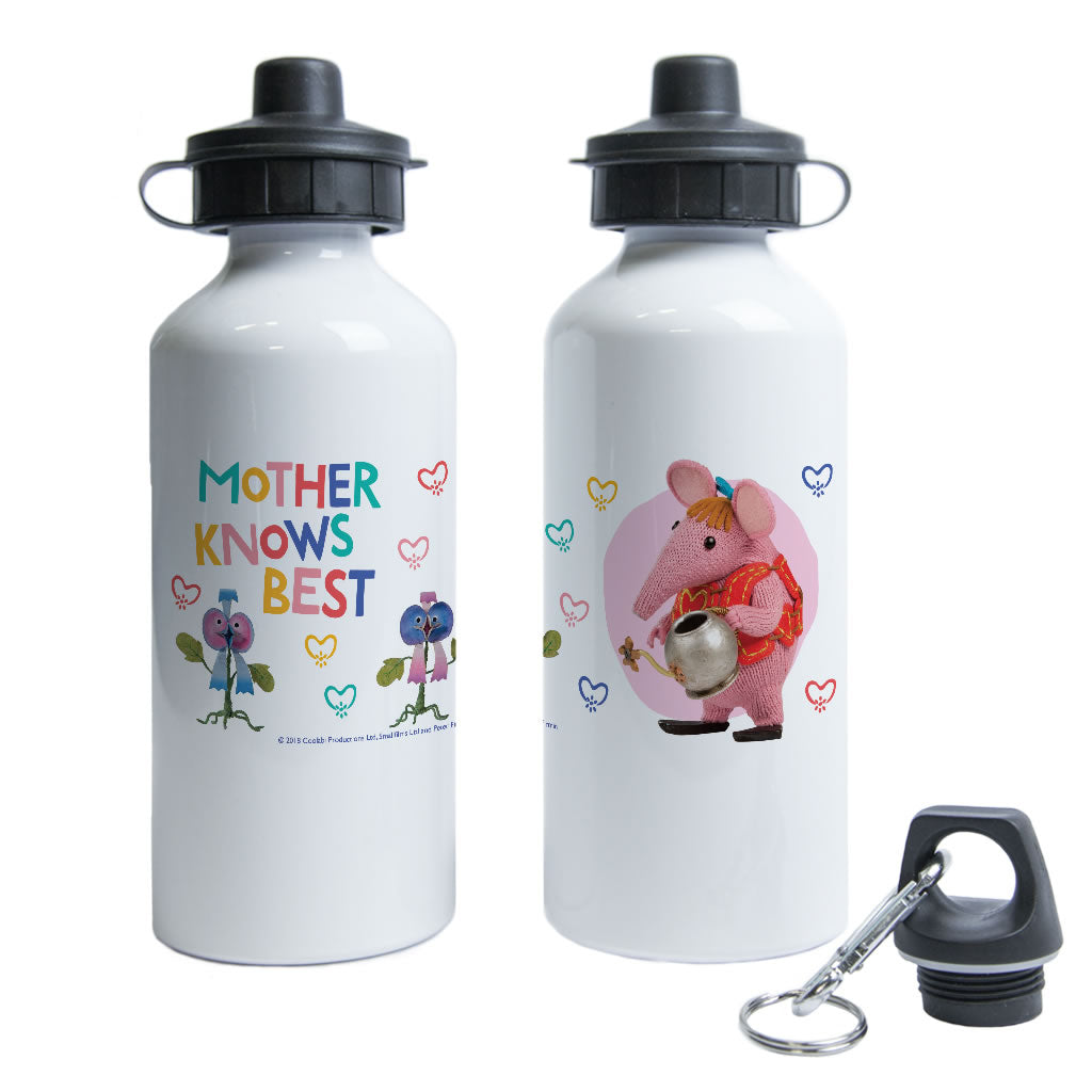 Mother Knows Best Clangers Water Bottle