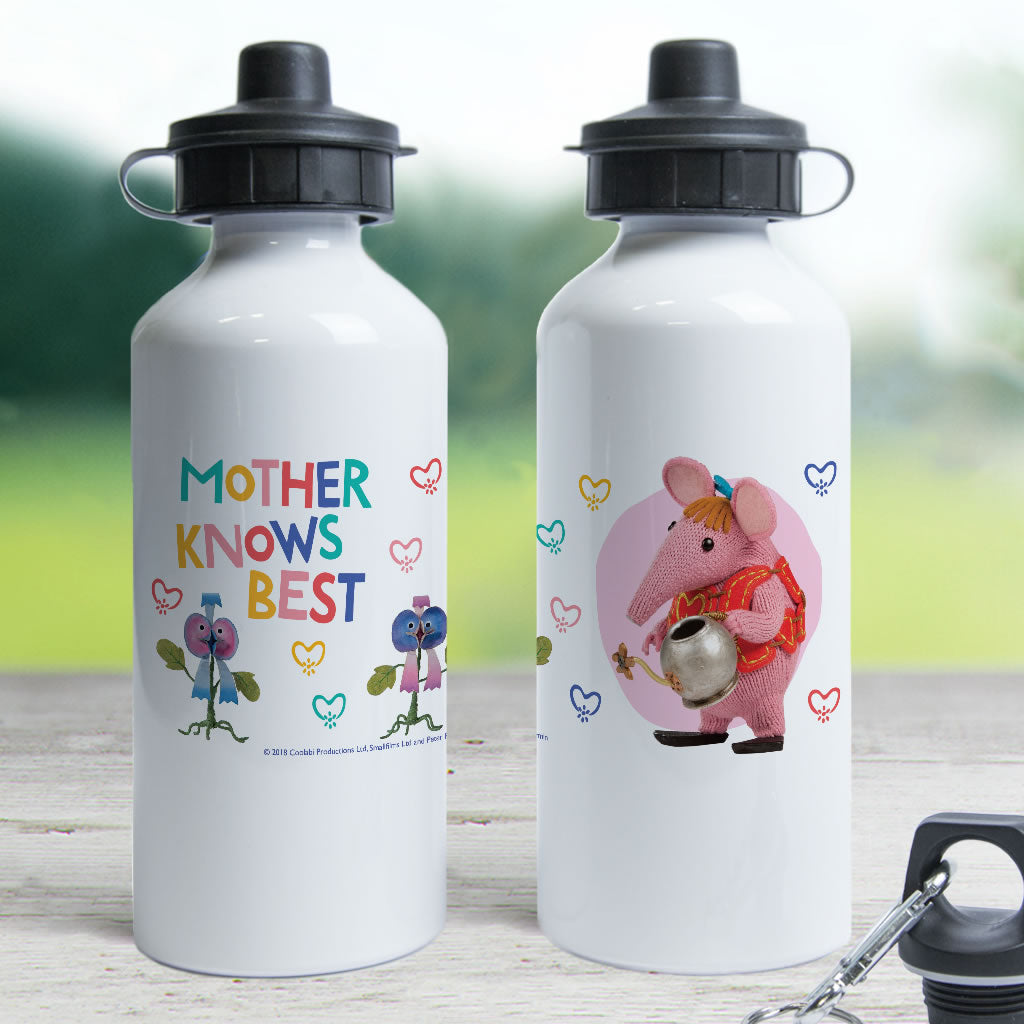 Mother Knows Best Clangers Water Bottle (Lifestyle)