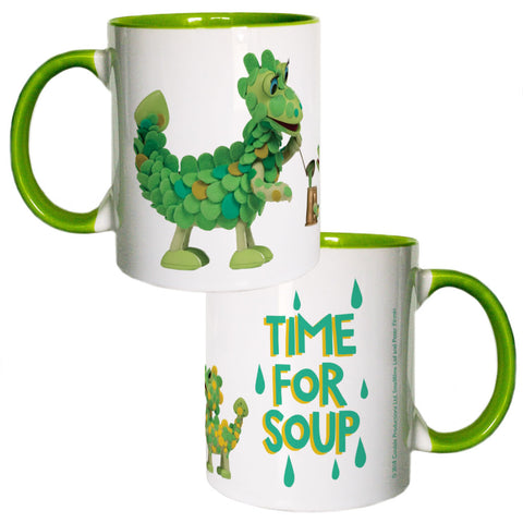 Time For Soup Clangers Coloured Insert Mug