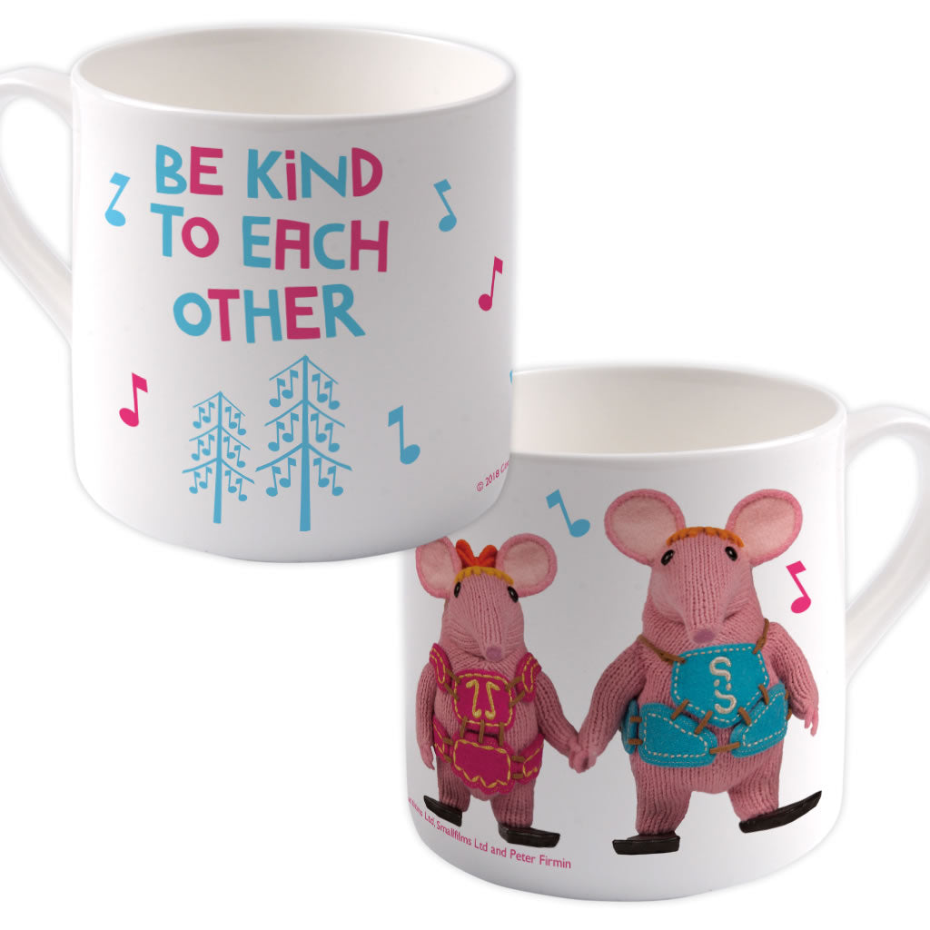 Be Kind Clangers Bone China Mug