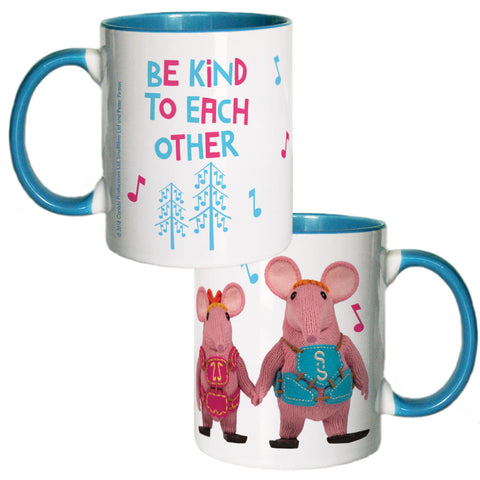 Be Kind Clangers Coloured Insert Mug