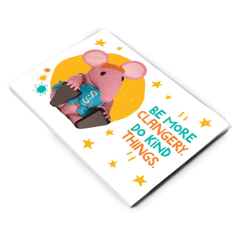 Do Kind Things Clangers A5 Note Pad