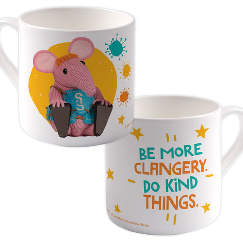 Do Kind Things Clangers Bone China Mug