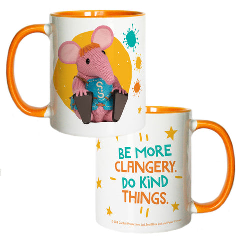 Do Kind Things Clangers Coloured Insert Mug