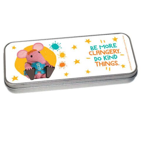 Do Kind Things Clangers Pencil Tin