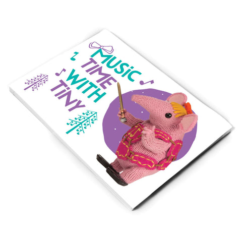 Music Time Clangers A5 Note Pad